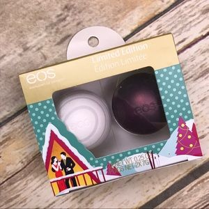 New EOS sugarplum Limited Edition pack of 2 gloss